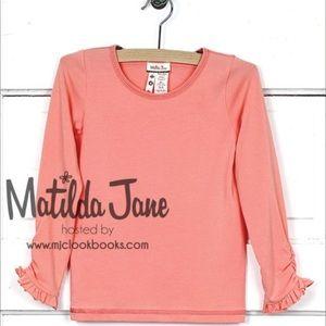 Matilda Jane Girls Sherbet Tee.     NWT